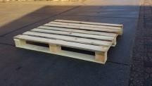 Blokpallet 100 x 120 Middel zwaar - Langslopend onderdek